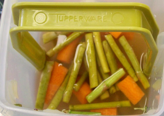 asparagus and carrot pickles 4-13-14