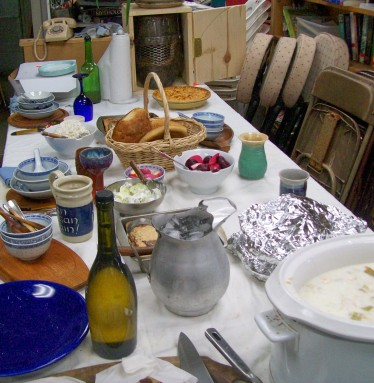 The feast table - May