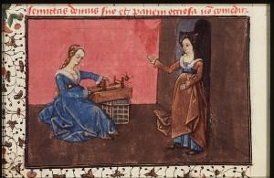 Epistle of Othea showing a box loom resources42dotkbdotnlslashMIMIslashMIMI_74G27_059V_MIN