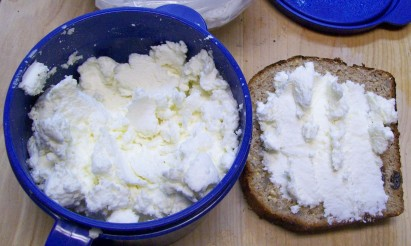...but the ricotta is great and tasty!