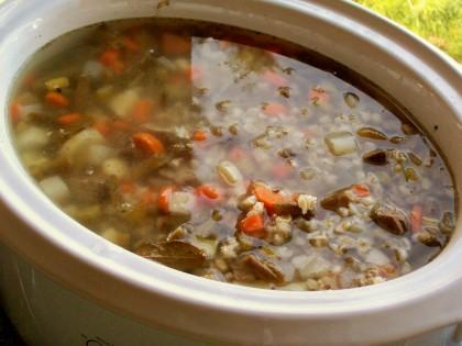 Beef & Barley soup