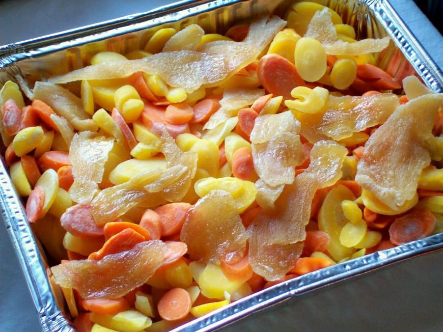Ginger Carrots.