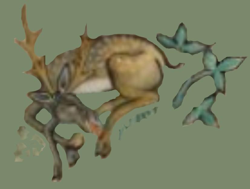 Deer - Luttrel Psalter