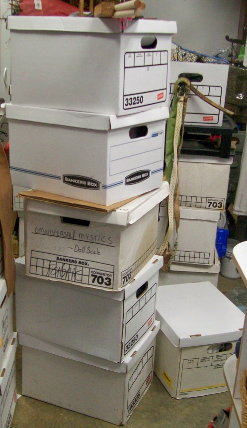 The box stack for class