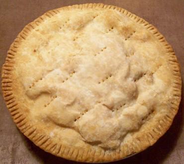Rabbit pie before
