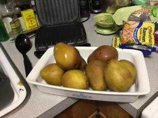 Boiled Pears